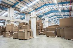 На Алексинской фабрике открыли новый склад для гофрокартона